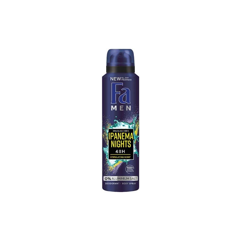 Men Brazilian Vibes Ipanema Nights Dedodorant dezodorant w sprayu dla mężczyzn 150ml