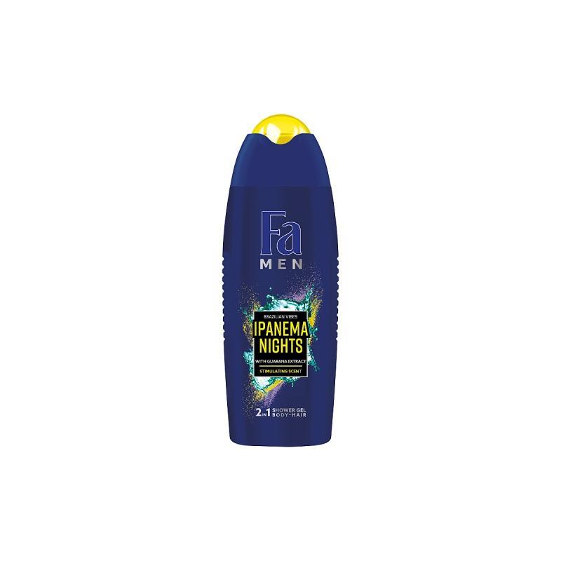 Men Brazilian Vibes Ipanema Nights Shower Gel żel pod prysznic do mycia ciała i włosów dla mężczyzn 400ml