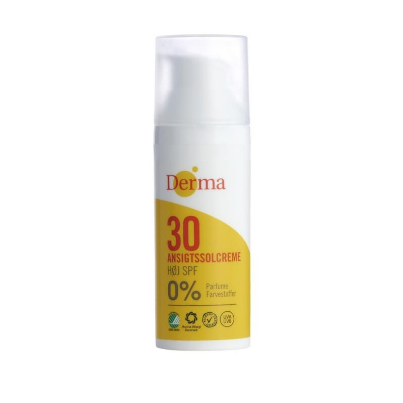 Derma Sun krem przeciwsłoneczny do twarzy SPF30 50ml