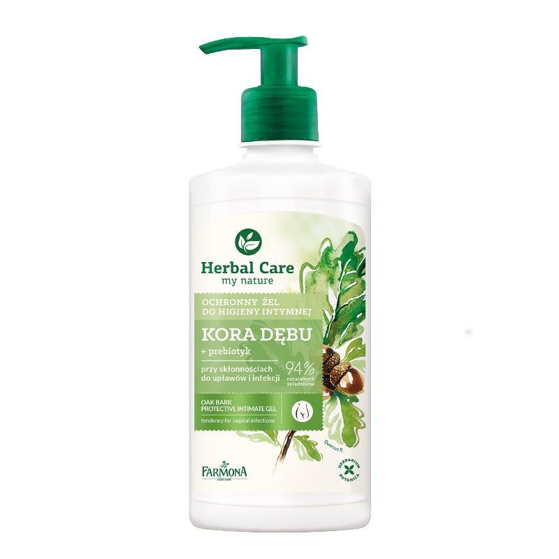 Herbal Care Protective Intimate Gel ochronny żel do higieny intymnej Kora Dębu 330ml