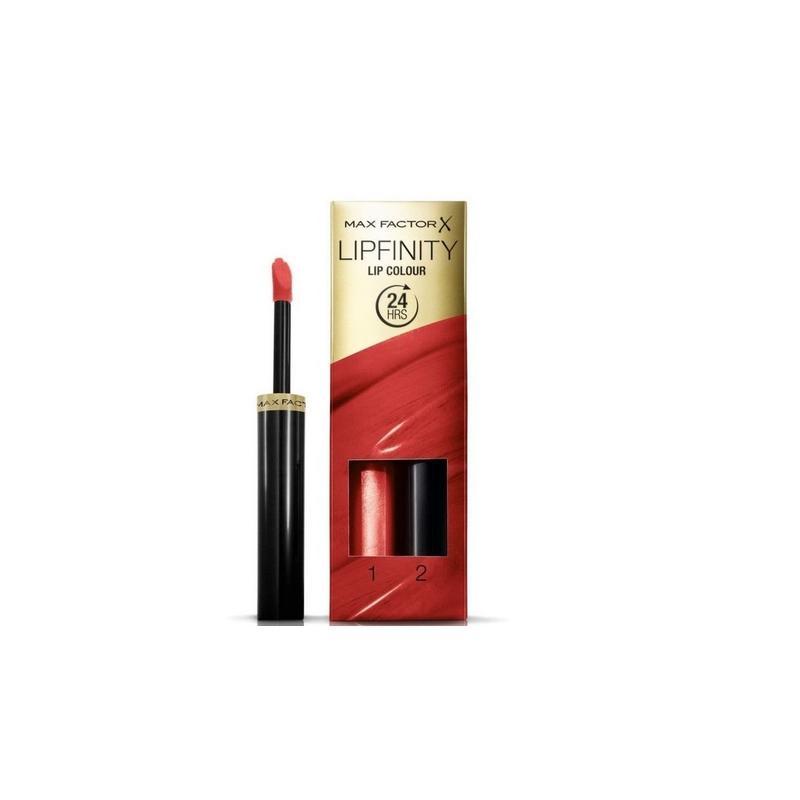 Lipfinity Lip Colour trwała pomadka do ust  2,3ml + Top Coat 1,9g