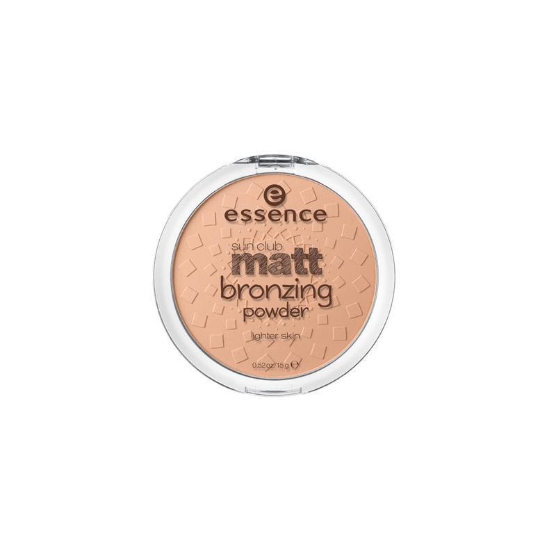 Sun Club Matt Bronzing Powder puder matujący brązujący 01 Natural 15g