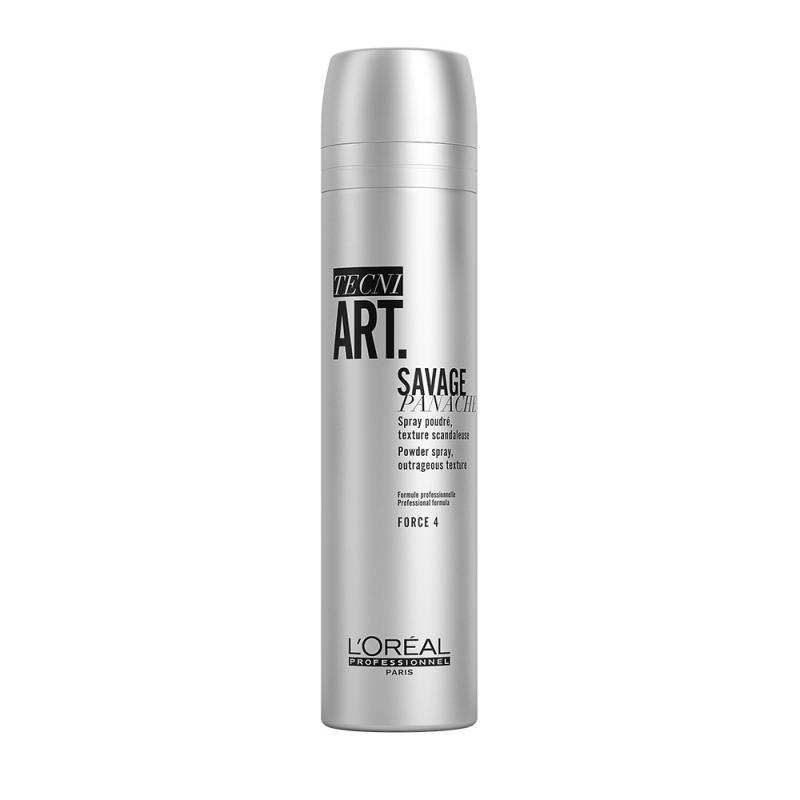 Tecni Art Savage Panache Powder Spray puder w sprayu nadający objętość włosom Force 4 250ml