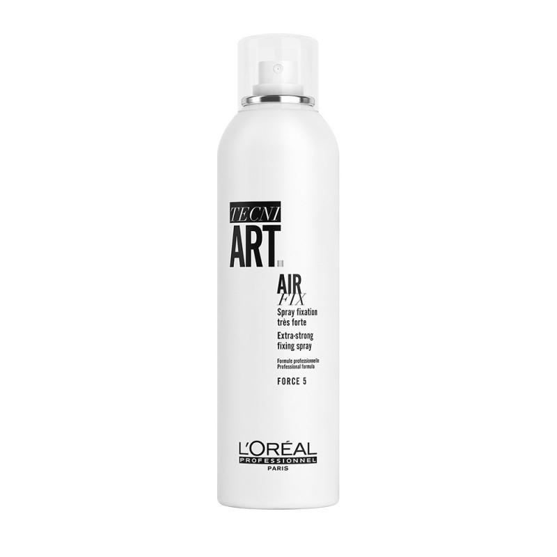 Tecni Art Air Fix Extra-Strong Fixing Spray supermocno utrwalający lakier do włosów Force 5 250ml