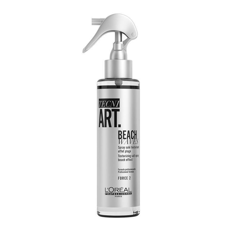 Tecni Art Beach Waves Texturizing Salt Spray teksturyzujący spray z solą do włosów Force 2 150ml